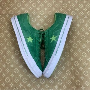 Converse One Star Low Mint Green